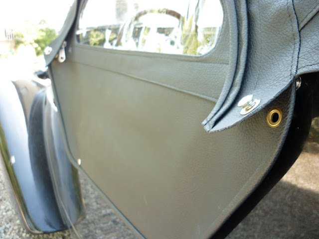Modification de la capote d'une Burton 2cv (2)